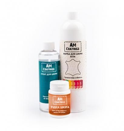 Набор для покраски и реставрации кожаного кресла AM coatings
