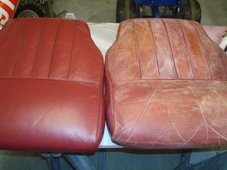 Восстановление кожаного салона автомобиля своими руками